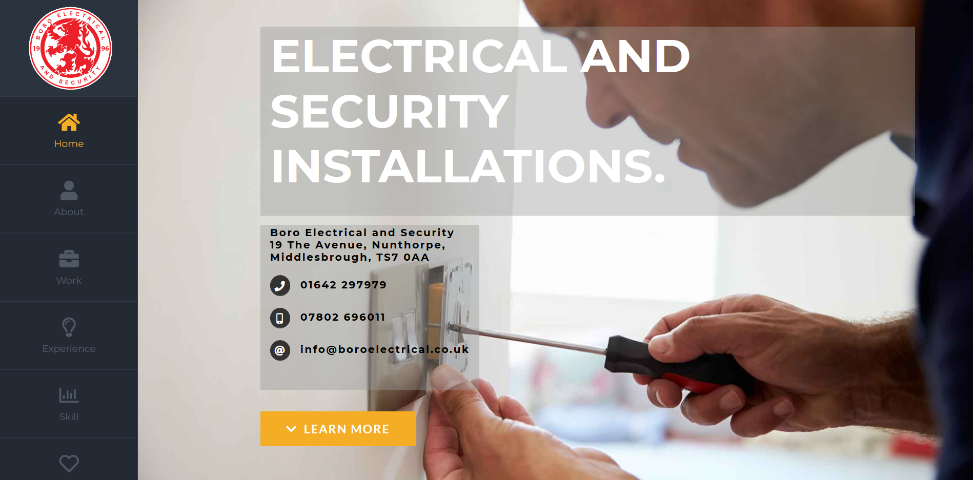 Boro electrical and security installations